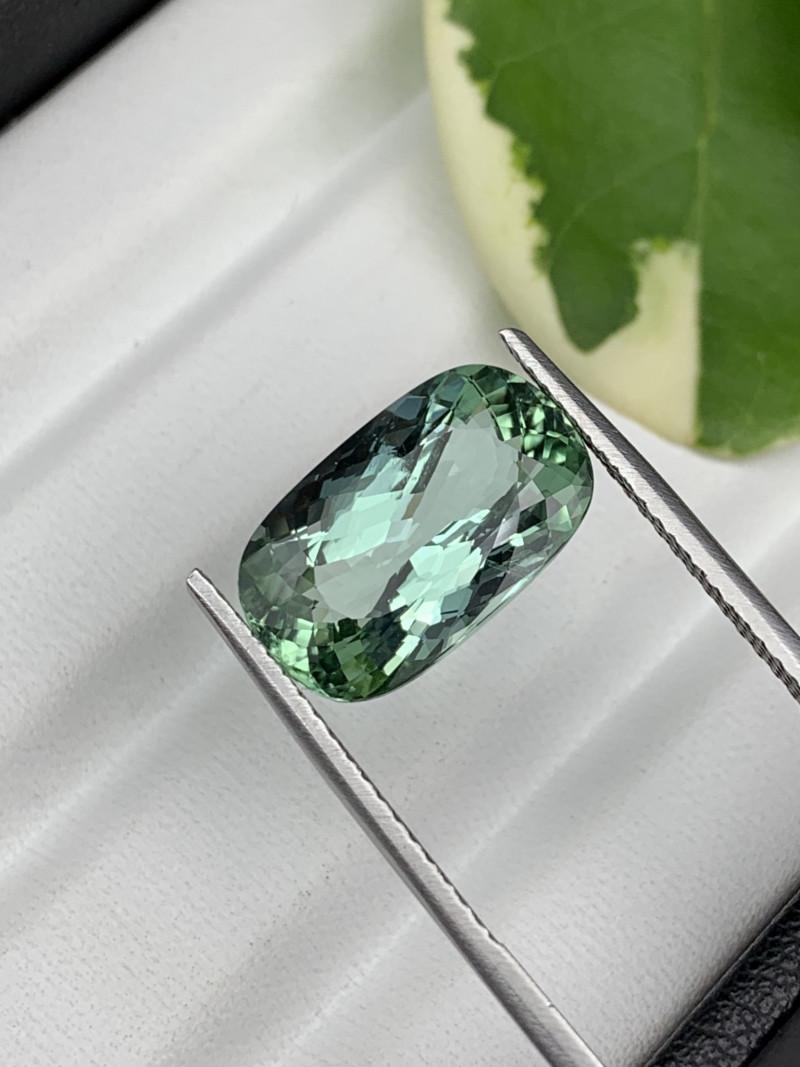 8.75 Carats Mint Green Top Quality Natural Tourmaline.