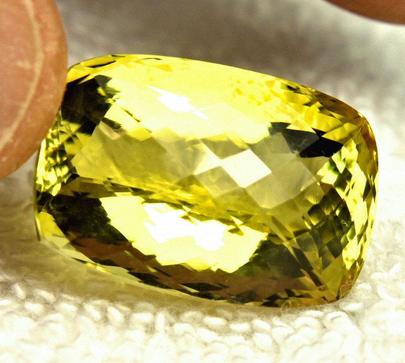 43.32 Carat African VVS Natural Lemon Quartz - Gorgeous