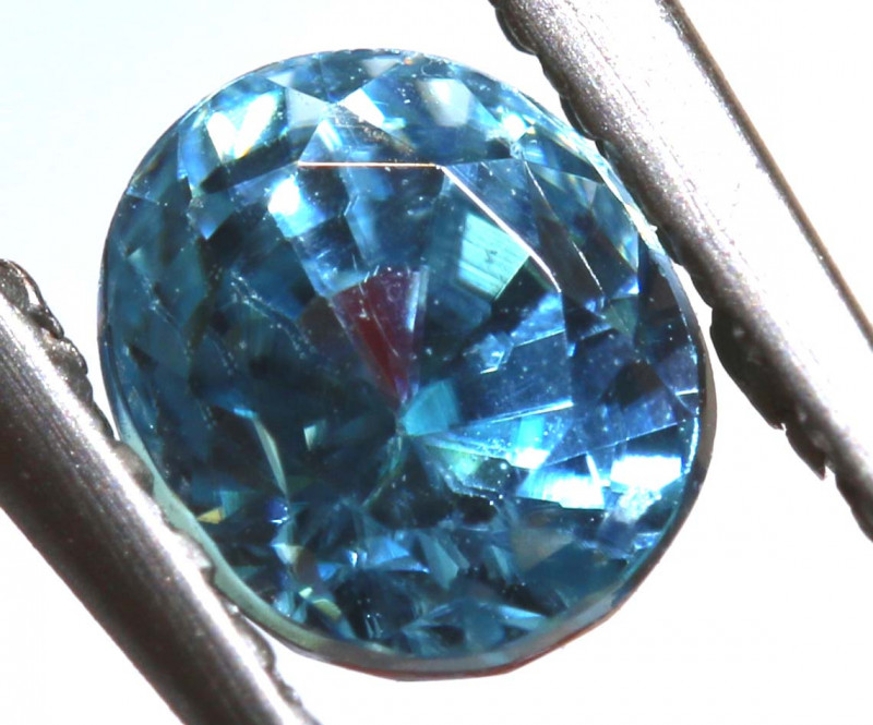0.97 CTS NATURAL BLUE ZIRCON FACETED PG-2933