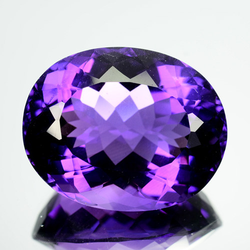 24.12 Cts Natural Purple Amethyst Bolivia