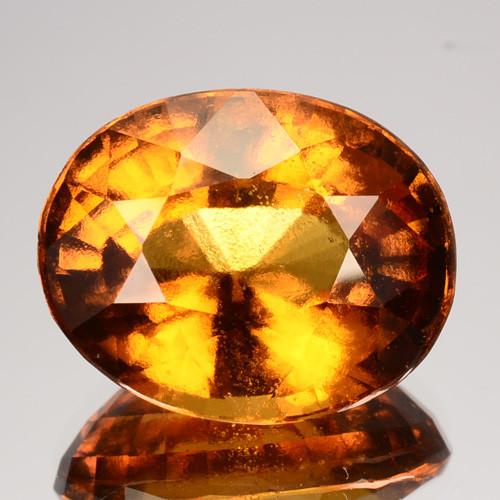 14.08  Cts Natural Cinnamon Orange Hessonite Garnet Sri Lanka