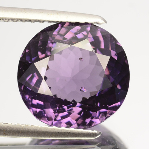 5.08 Cts Natural Purplish Blue Spinel Round Srilanka Gem
