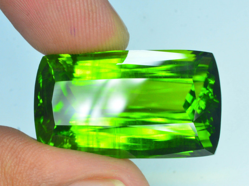AAA Color & Cut 57.85 ct Huge Size Himalayan Peridot ~ Pakistan