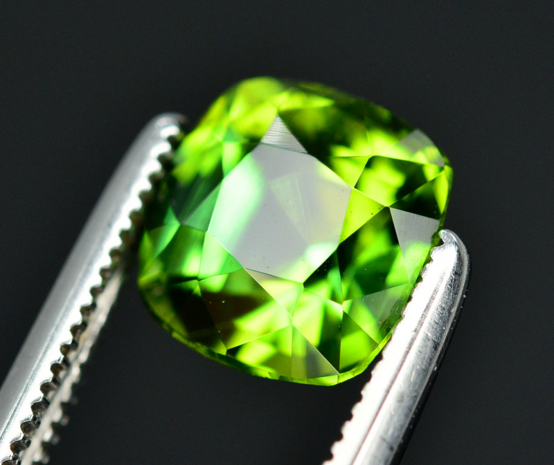 Top Color 2.00 Ct Lagoon Green Tourmaline From Afghanistan. ARA1