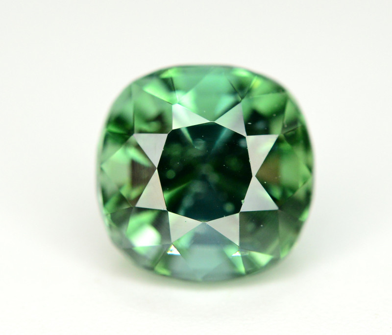 Top Color 2.05 Ct Bluish Green Tourmaline Form Afghanistan. ARA1