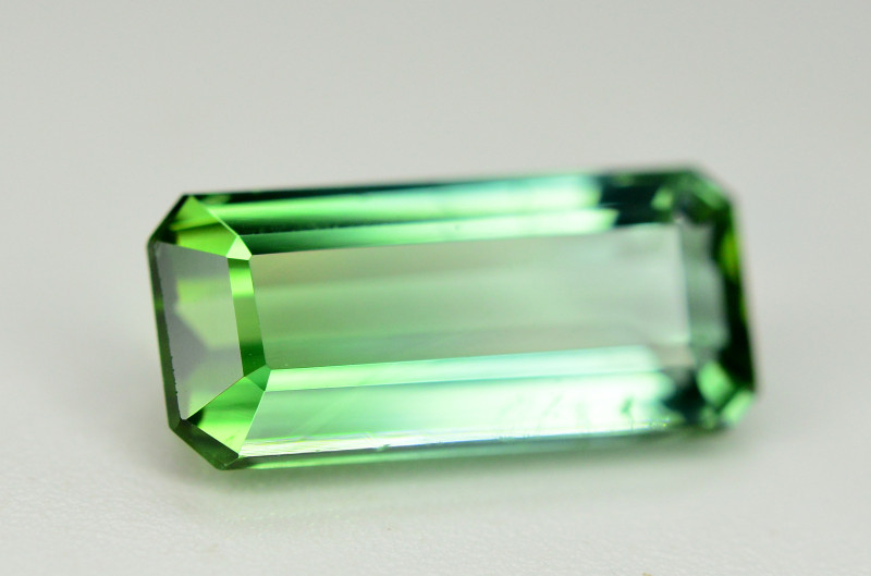 Gorgeous Color 2.55 Ct Mint Green Tourmaline From Afghanistan. ARA1
