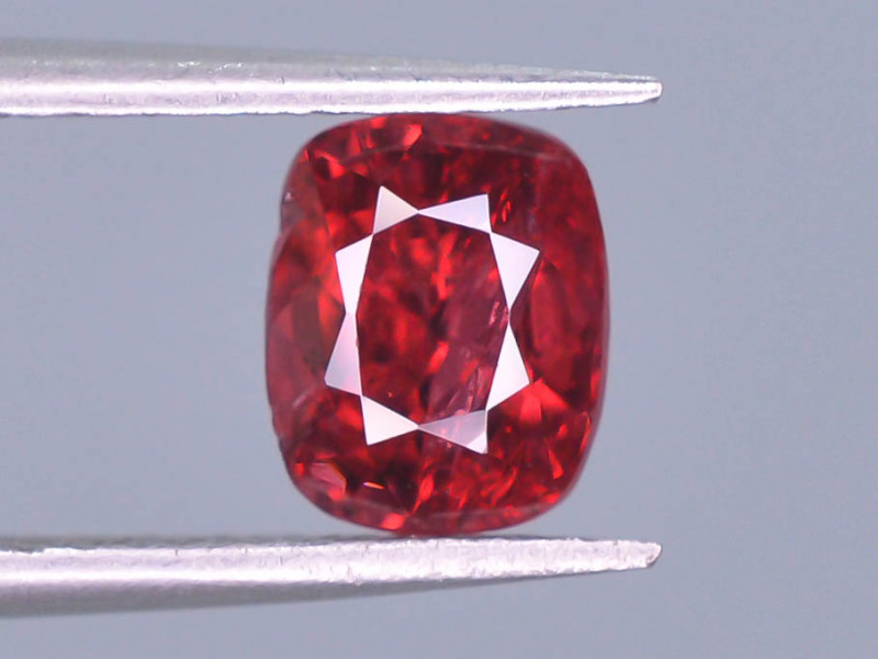 Top Color 1.30 ct Red Color Spinel Untreated/Unheated ~Burma ~ AD
