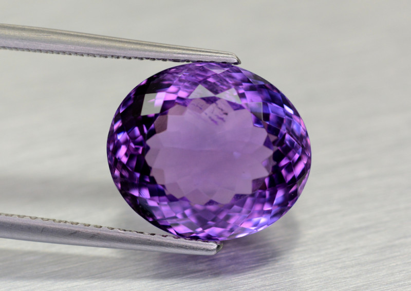 9.25 CT Amethyst Gemstone From Uruguay