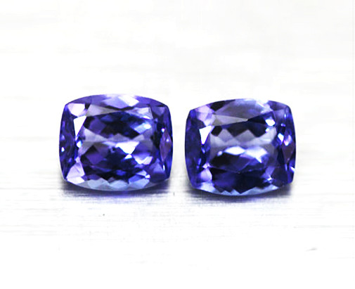 2.36 tcw High End IF Natural Tanzanite Certified