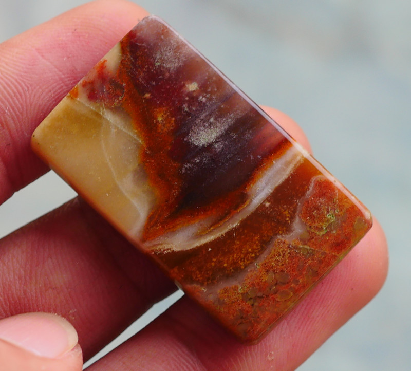 INDONESIAN PETRIFIED WOOD OPAL AA GRADE 40.40 CRT