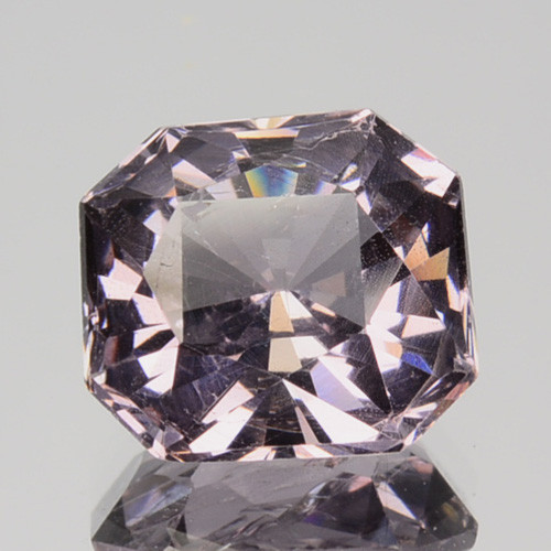 2.37 Cts Natural Purple Pink Spinel Octagon Burma