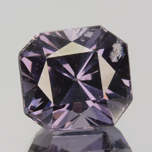 3.01 Cts Natural Purple Blue Spinel Square Burma