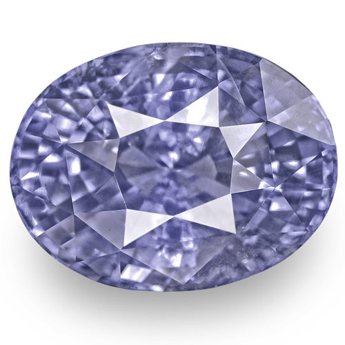 GIA Certified Sri Lanka Blue Sapphire, 6.75 Carats, Vivid Violetish Blue