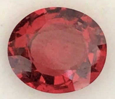 CERTIFIED 2.114ct Bright Red Spinel-  Burma, THM24 H665