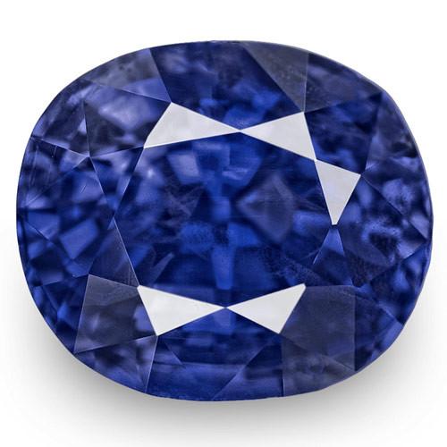 GRS Certified Sri Lanka Blue Sapphire, 3.05 Carats, Lustrous Royal Blue