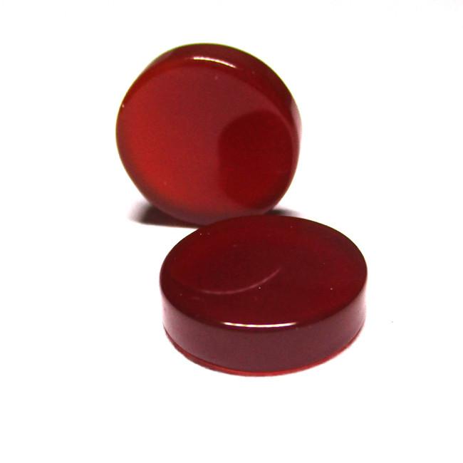 9.74tcw Carnelian  Matched Round Discs