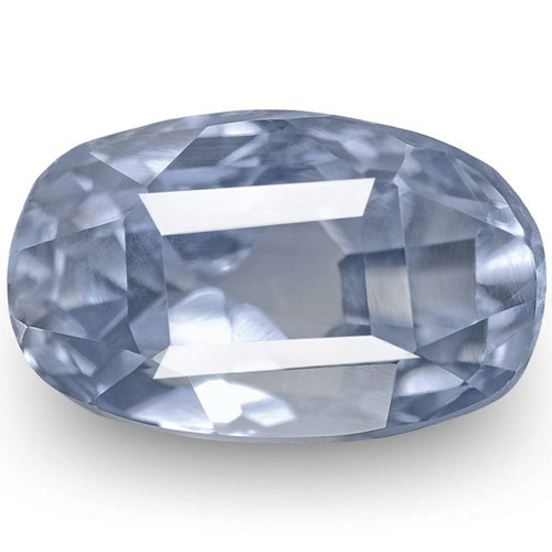IGI Certified Burma Blue Sapphire, 2.87 Carats, Pastel Blue