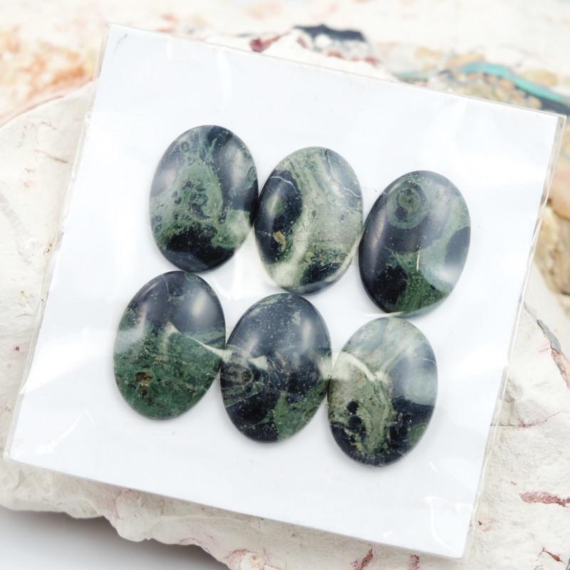 820Cts parcel 30 Pairs Jasper Gemstones  W1226