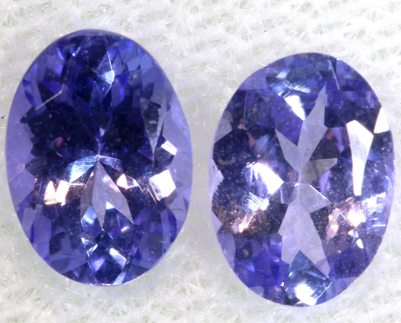 1.68 CTS  TANZANITE  FACETED  STONE PARCEL PG-2857
