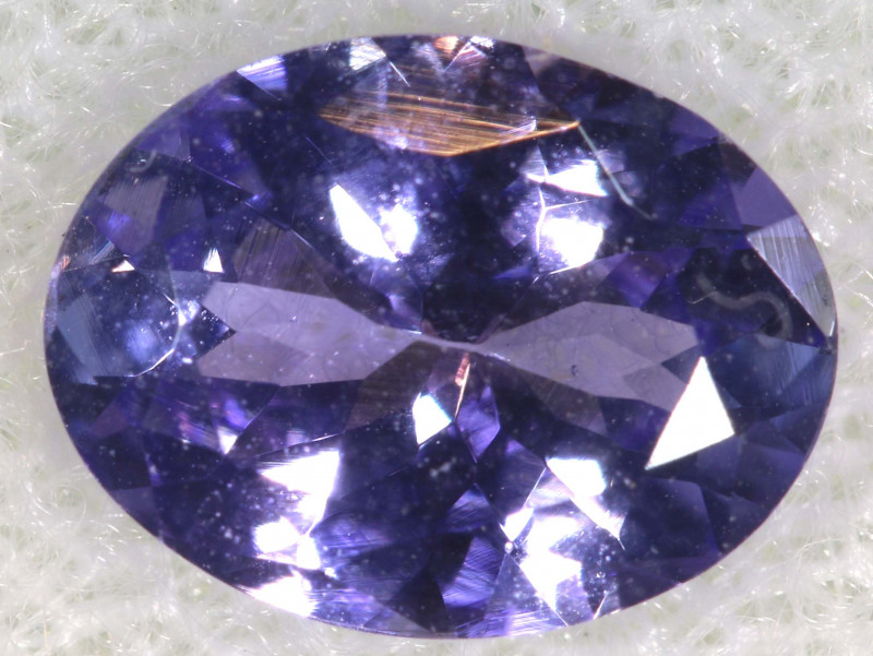 1.28 CTS  TANZANITE  FACETED  STONE  PG-2868