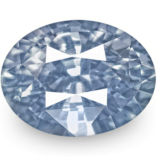 IGI Certified Sri Lanka Blue Sapphire, 1.66 Carats, Lustrous Blue Oval