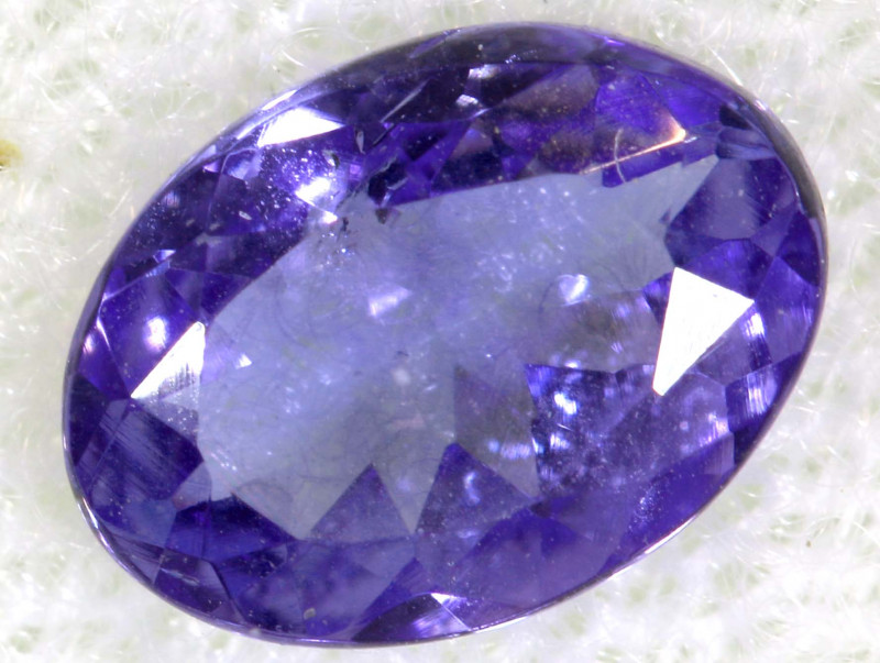0.72 CTS  TANZANITE  FACETED  STONE  PG-2869