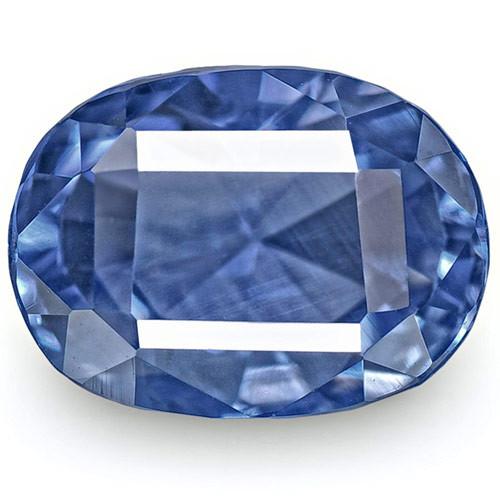 GIA Certified Sri Lanka Blue Sapphire, 7.04 Carats, Vevlety Cornflower Blue