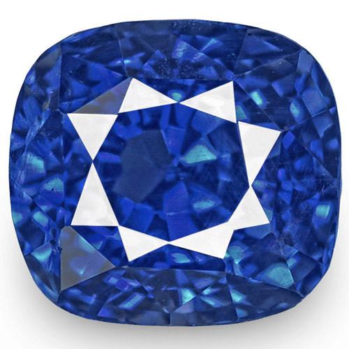 GRS Certified Sri Lanka Blue Sapphire, 1.04 Carats, Fiery Vivid Royal Blue