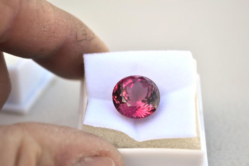10.74 Carat Tourmaline -- Top Jewelry Grade Certified Stone