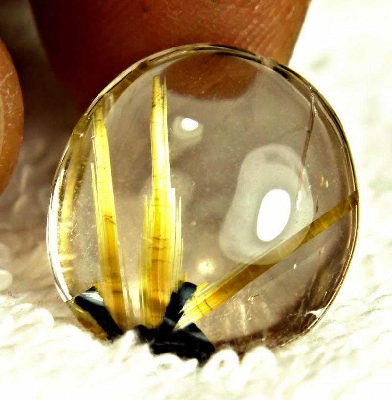 tourmalated quartz gemstone