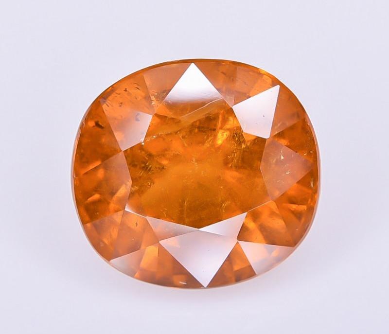 4.32 Crt Spessartite Garnet Faceted Gemstone RKS 05