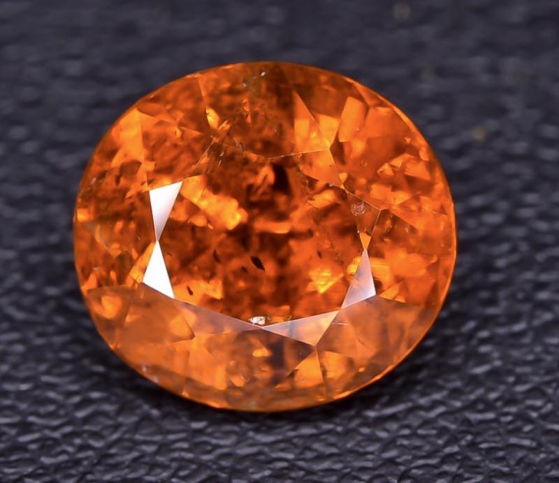 5.02 Crt Spessartite Garnet Faceted Gemstone RKS 05