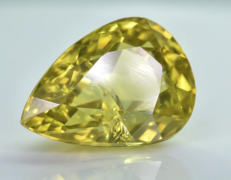 9.23 Crt Natural Zircon Faceted Gemstone ZR 1
