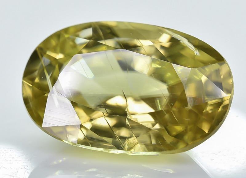 6.31 Crt Natural Zircon Faceted Gemstone ZR 1
