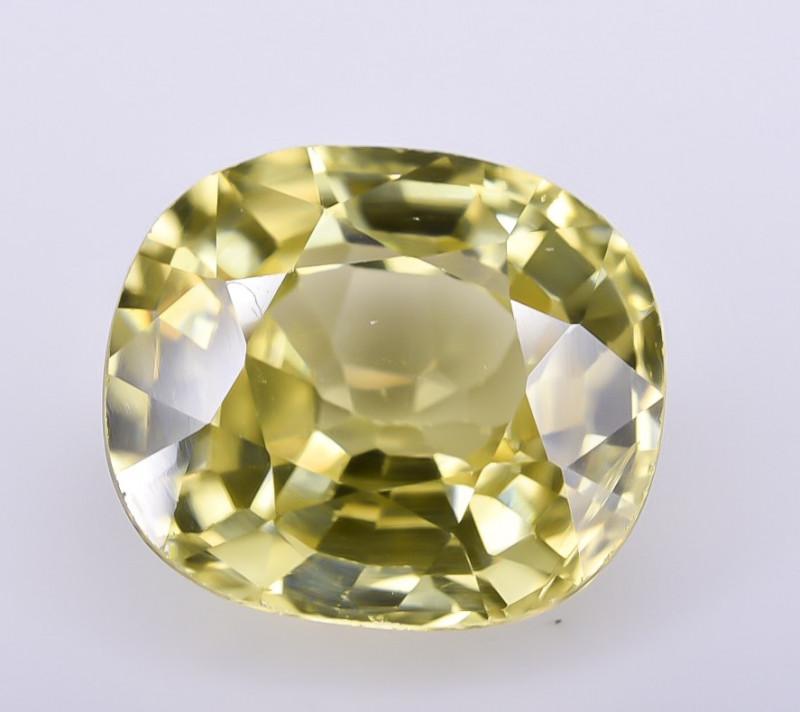 4.47 Crt Natural Zircon Faceted Gemstone ZR 1