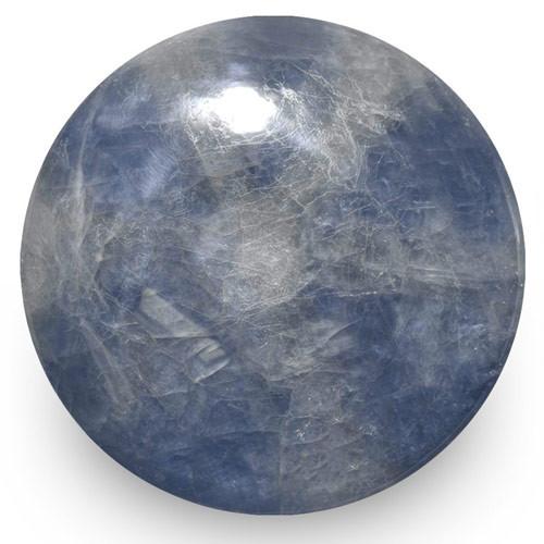 IGI Certified Burma Trapiche Sapphire, 44.91 Carats, Grey & Blue