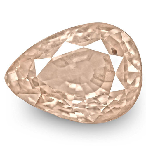 GIA Certified Sri Lanka Fancy Sapphire, 2.52 Carats, Pale Pinkish Orange