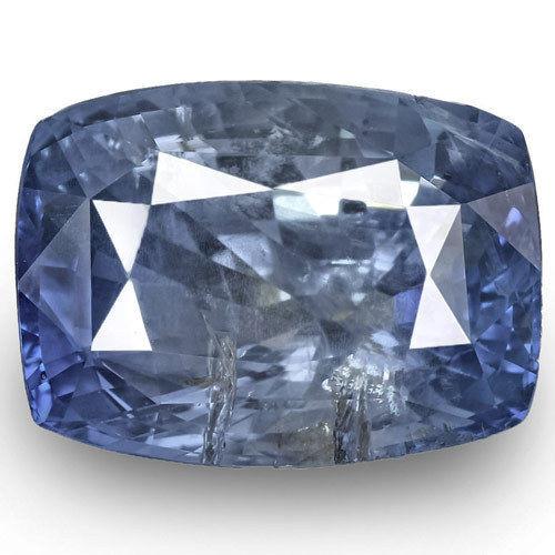 GIA Certified Sri Lanka Blue Sapphire, 22.67 Carats, Intense Blue Cushion