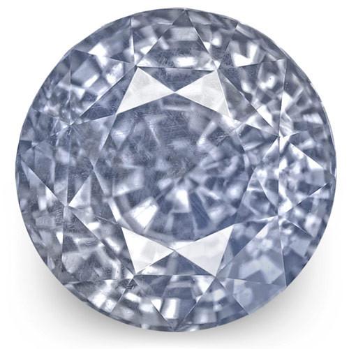 GIA Certified Sri Lanka Blue Sapphire, 3.07 Carats, Lustrous Pastel Blue