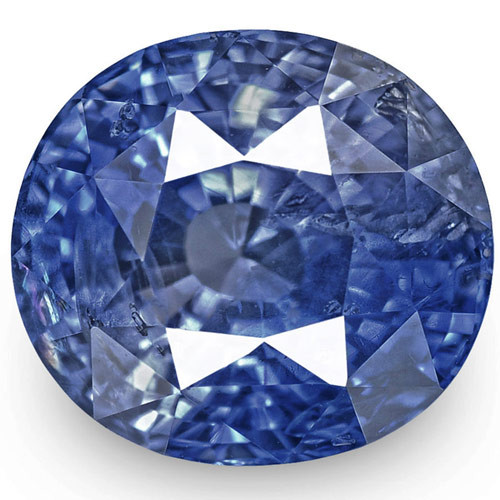 GIA Certified Sri Lanka Blue Sapphire, 5.09 Carats, Fiery Vivid Blue Oval