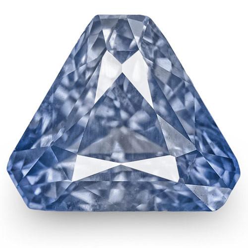 GIA Certified Sri Lanka Blue Sapphire, 2.78 Carats, Lively Blue Fancy Cut