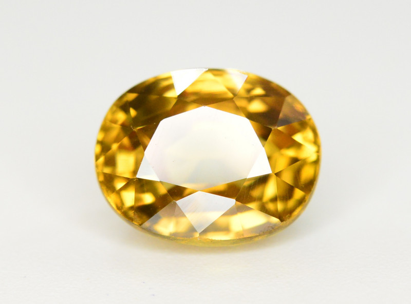 5.70 Ct Gorgeous Color Natural Yellow Zircon