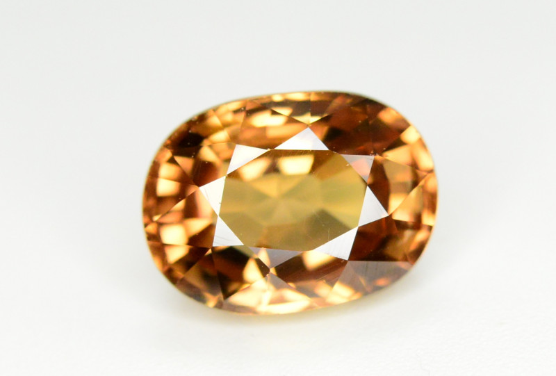 4.20 Ct Gorgeous Color Natural Yellow Zircon