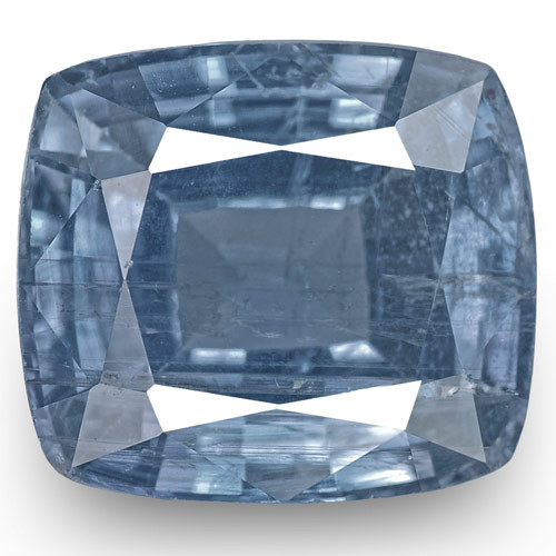 GIA Certified Madagascar Blue Sapphire, 5.64 Carats, Intense Blue Cushion