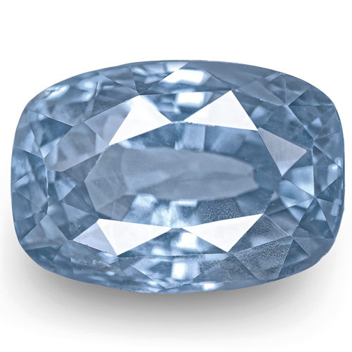 GIA Certified Sri Lanka Blue Sapphire, 6.54 Carats, Lively Blue Cushion