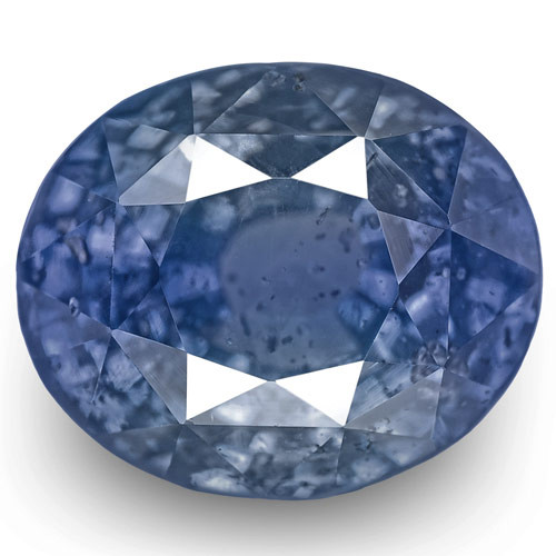 GIA Certified Sri Lanka Blue Sapphire, 4.64 Carats, Deep Violetish Blue