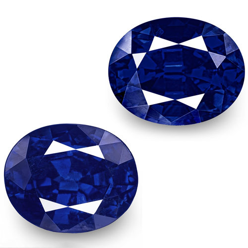 GIA Certified Nigeria Blue Sapphires, 1.16 Carats, Oval
