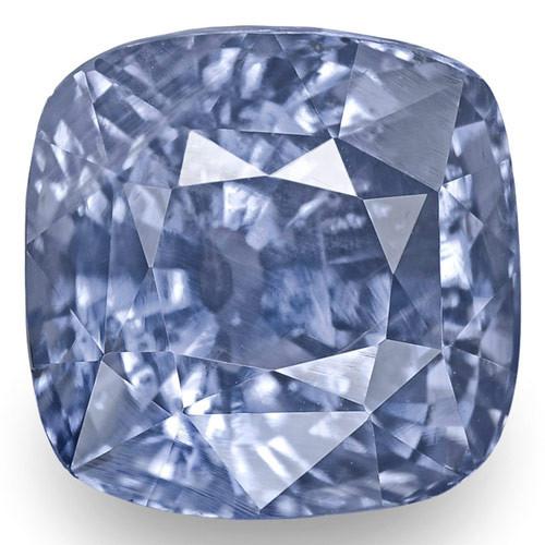 GIA Certified Sri Lanka Blue Sapphire, 6.04 Carats, Lustrous Intense Blue