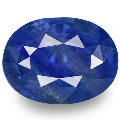 GIA Certified Sri Lanka Blue Sapphire, 8.43 Carats, Oval