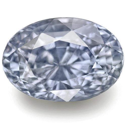 GIA Certified Sri Lanka Blue Sapphire, 6.96 Carats, Soft Violetish Blue